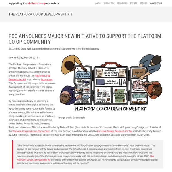 The Platform Co-op Development Kit : Platform Cooperativism