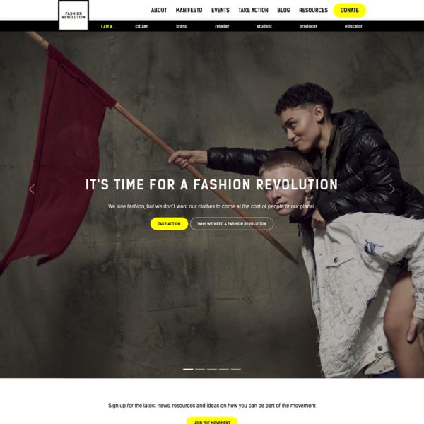 Home - Fashion Revolution