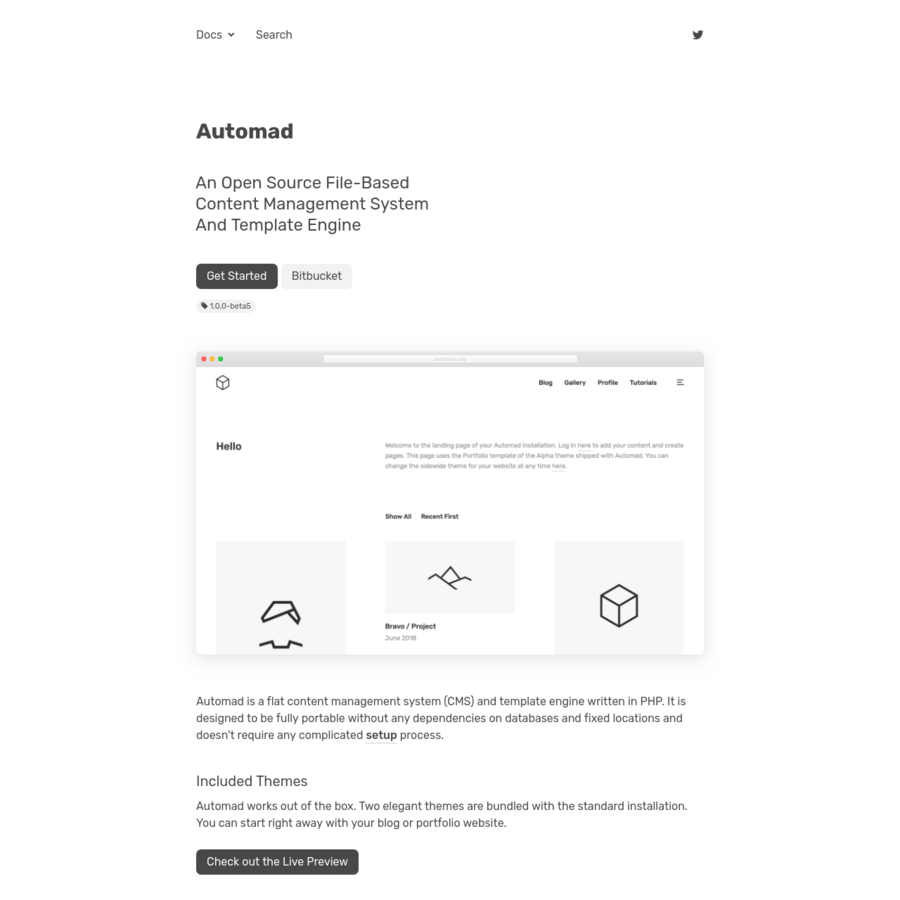 Are.na / Automad / An Open Source File-Based Content Management ...