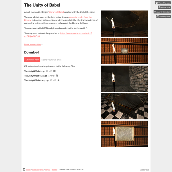 The Unity of Babel by Agar