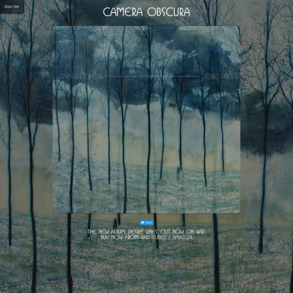 Glasgow's Camera Obscura have been making music for a decade, carried through the ups and downs of various line-up changes and the tender pain of daily life by the sweetly sad voice of Tracyanne Campbell.