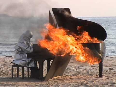 Yosuke Yamashita, Burning Piano 2008