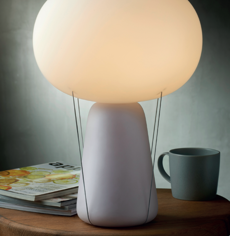 Blow table lamp by Tomas Kral