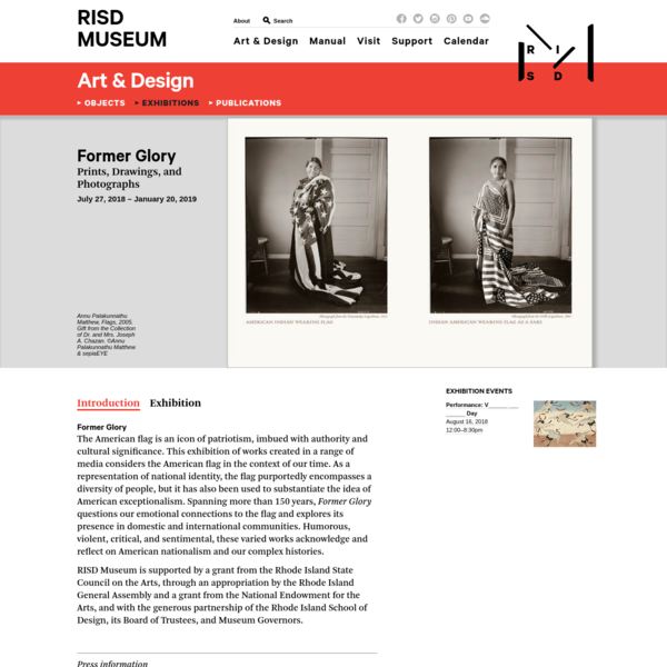 Former Glory - Exhibitions - RISD MUSEUM