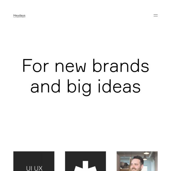 Heydays - Design Agency