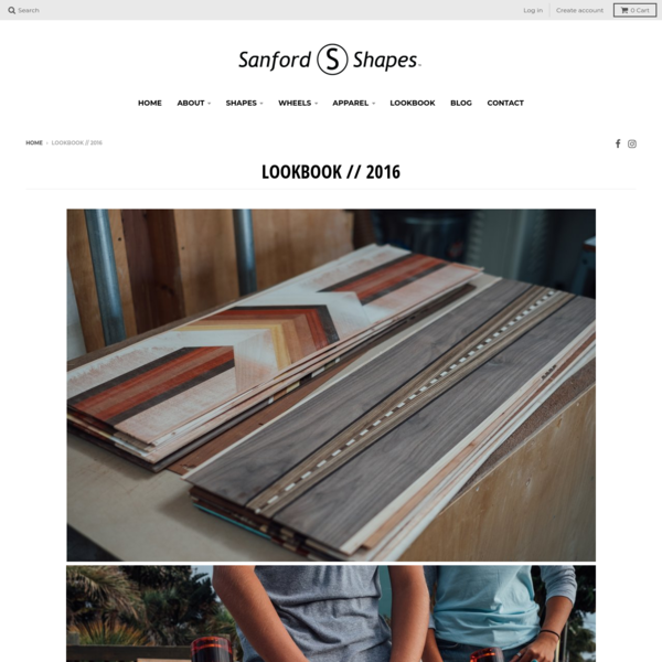 Sanford Shapes   Lookbook 2016