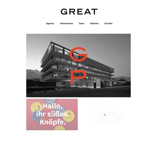 GREAT - Designstudio