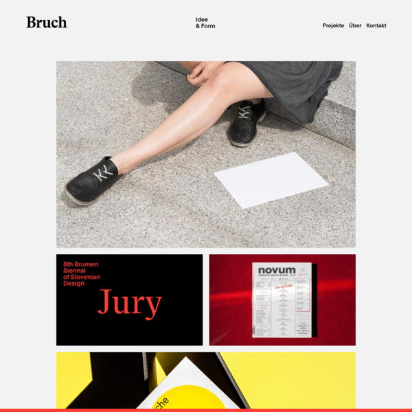 Bruch-Idee & Form