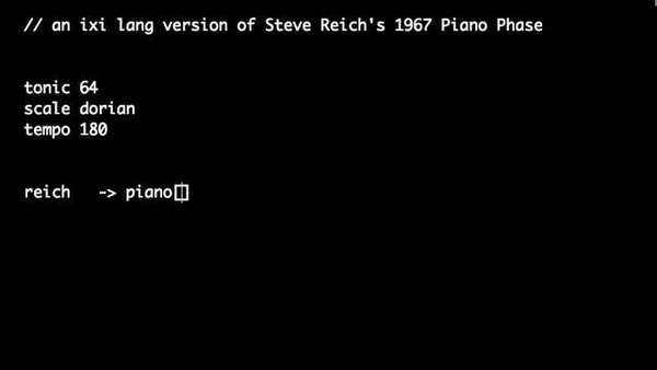 """This is """"ixi lang take on Steve Reich's Piano Phase"""" by ixi audio on Vimeo, the home for high quality videos and the people who love them."""