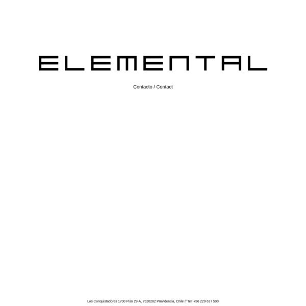 "Elemental """