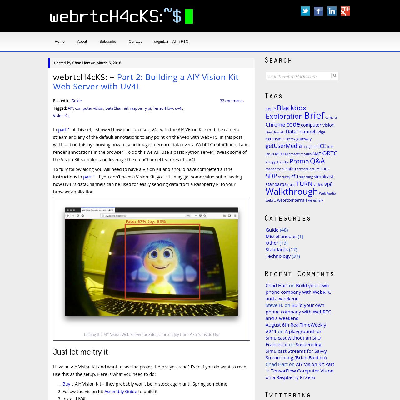 Uv4l Raspberry Pi