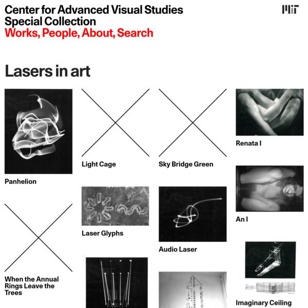Lasers in art