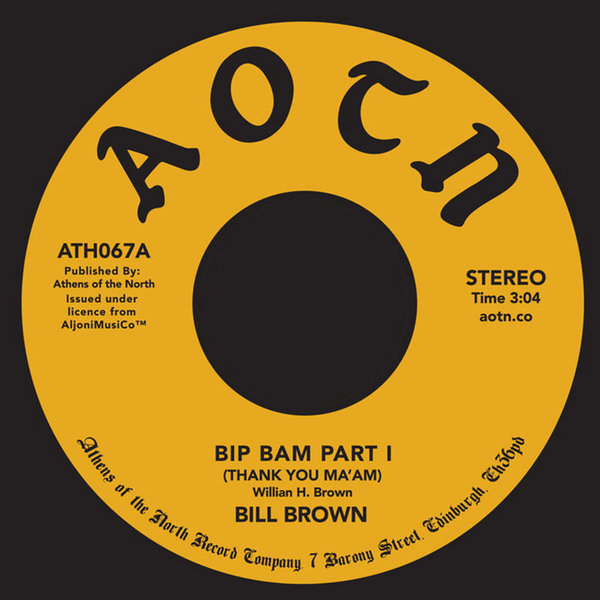 Bim Bam by Bill Brown, released 24 July 2018 1. Bill Brown - Bip Bam Part 1 2. Bip Bam Part 2 Bill Browns super rare Brownstone release is one for the deep heads, less well known than label mate 'Everyday People' but just as rare and collectable.