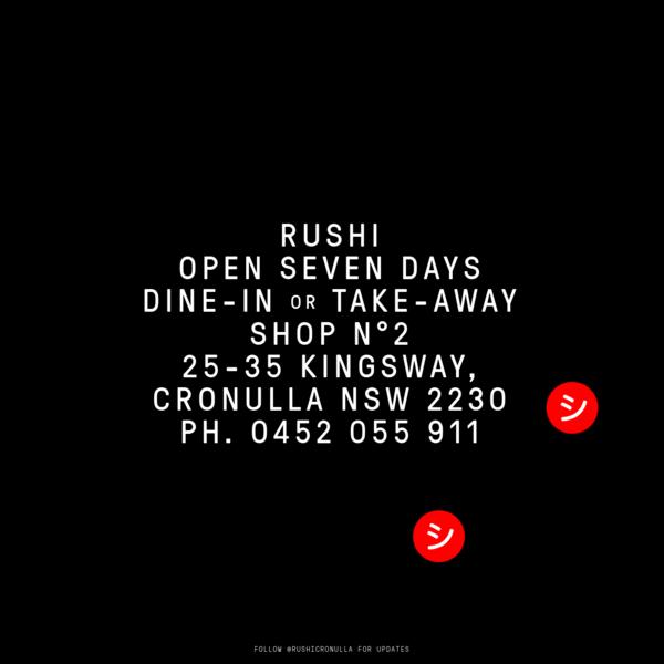 Rushi - Coffee and Kitchen, Cronulla