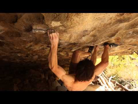 Jimmy Webb Climbing James Litz's Warpath V14