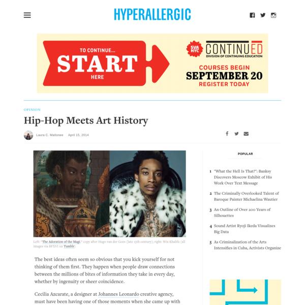 Hip-Hop Meets Art History