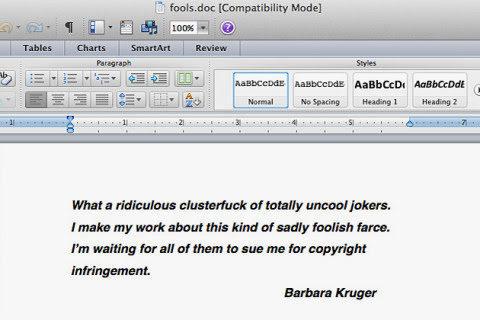 Barbara Kruger on Supreme