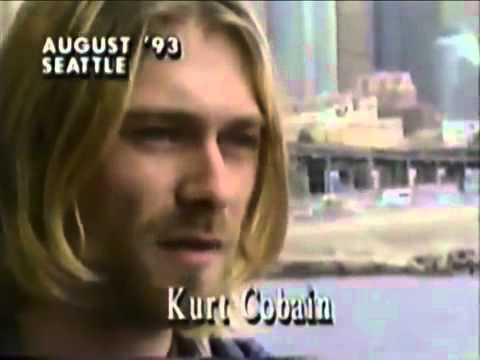 August, 1993 Seattle. Kurt Cobain from Nirvana. The original video was region blocked so I re-uploaded it here and managed to get the copyright claims lifted.