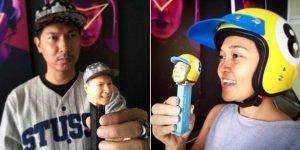 3D scan selfie Pez Dispensers