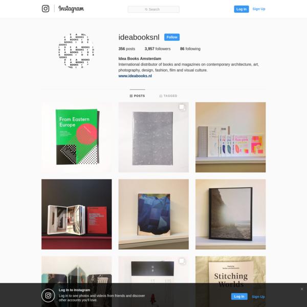 Idea Books Amsterdam (@ideabooksnl) * Instagram photos and videos