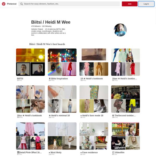 Heidi M Wee: Pinterest