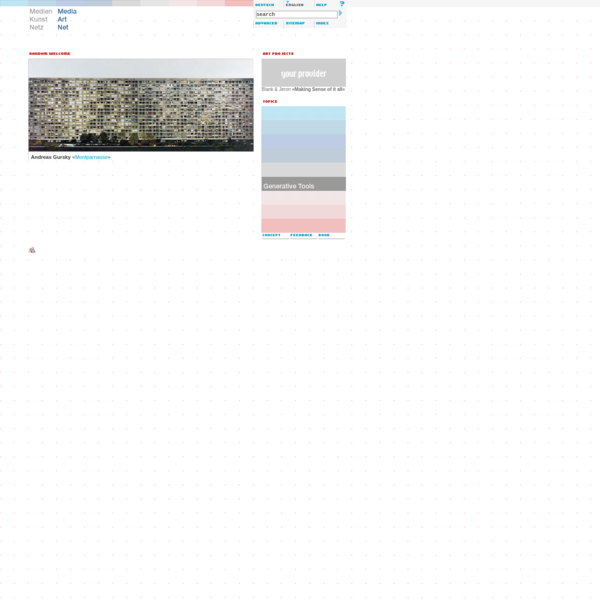Media Art Net | Homepage