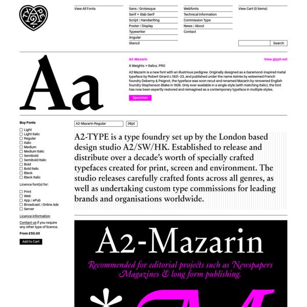 A2-Mazarin   A2-TYPE