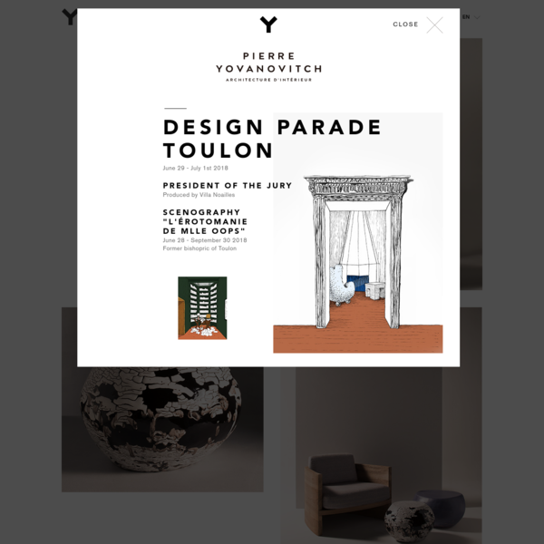 OOPS Exhibition - Pierre Yovanovitch Architecture d'intérieur