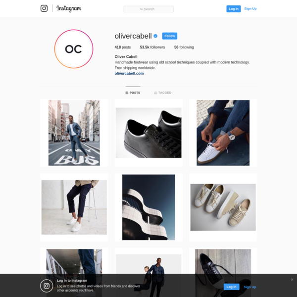 53.5k Followers, 56 Following, 418 Posts - See Instagram photos and videos from Oliver Cabell (@olivercabell)