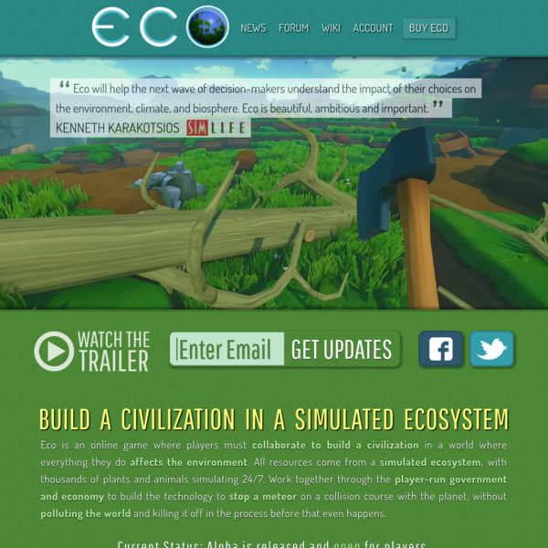 ECO - Strange Loop Games