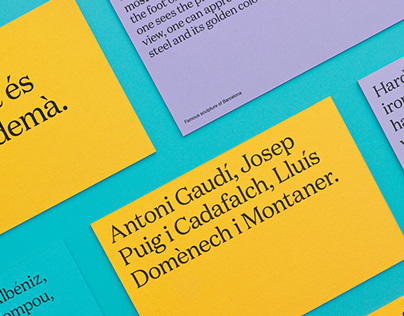 Visual identity for a small Catalan tourist business located in Barcelona.