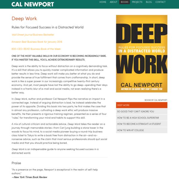 Cal Newport