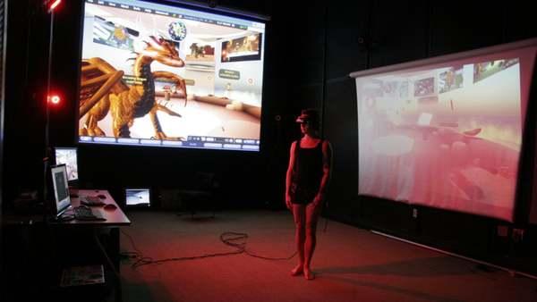 Micha Cardenas - Becoming Dragon 3min  Documentation
