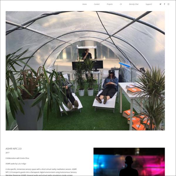 LaTurbo Avendon - ASMR NPC 2.0 (Virtual Reality Meditation Pod)