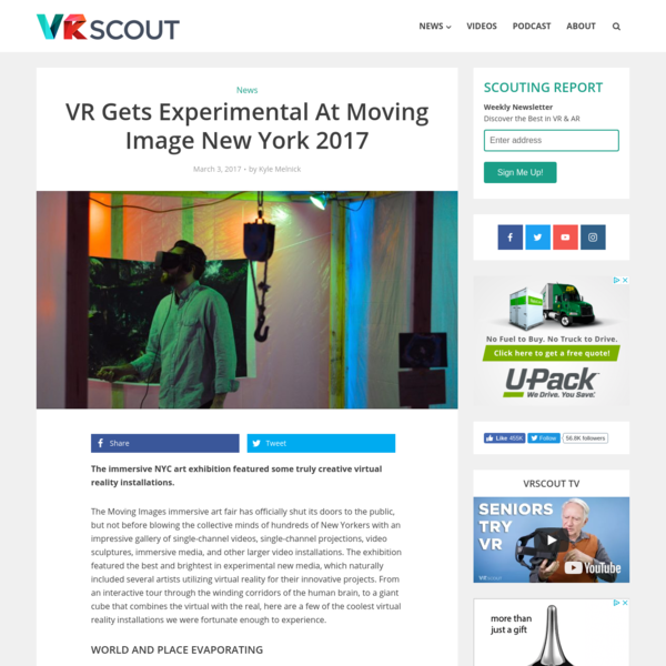 VR Gets Experimental At Moving Image New York 2017 - VRScout