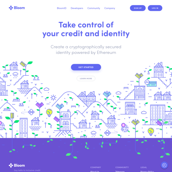 Decentralized credit scoring powered by Ethereum and IPFS