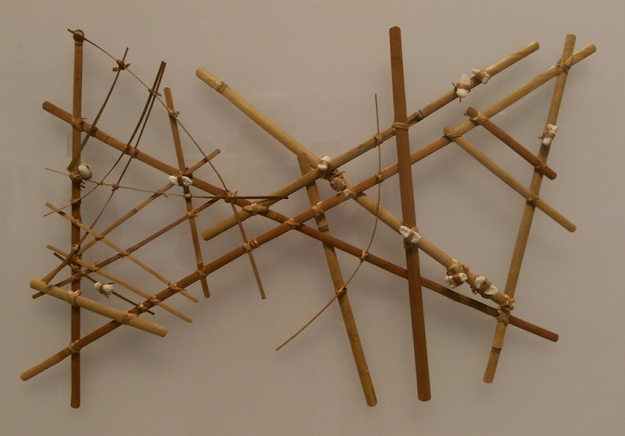 Marshall Islands stick chart (Micronesian)