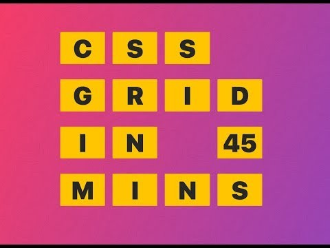 This is a talk I did at Laracon on CSS Grid. If you want to learn more about CSS Grid, take my free course at https://CSSGrid.io. Slides for this talk available at https://wesbos.github.io/css-grid-talk - Enjoy!