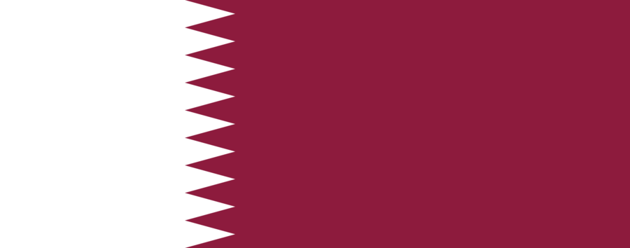 https://commons.wikimedia.org/wiki/File:Flag_of_Qatar.svg https://en.wikipedia.org/wiki/Flag_of_Qatar