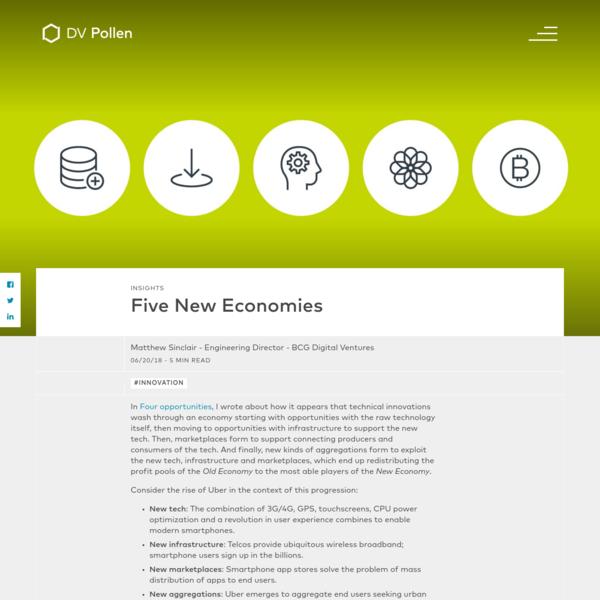 Five New Economies