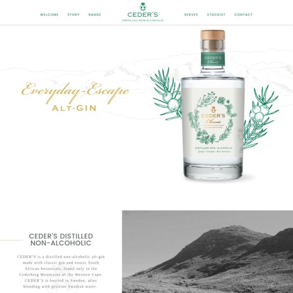 CEDER'S Distilled Non-Alcoholic Gin