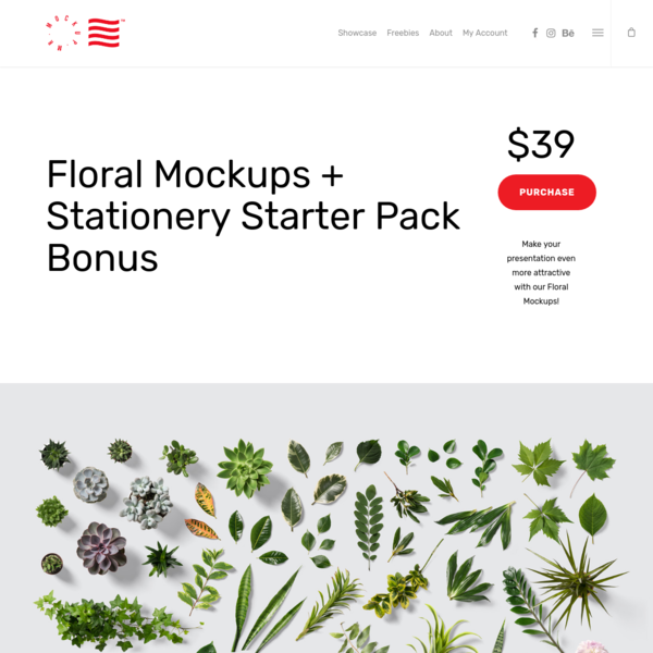 Floral Mockups - PSD Mockups & Graphic Design Freebies | Mr.Mockup
