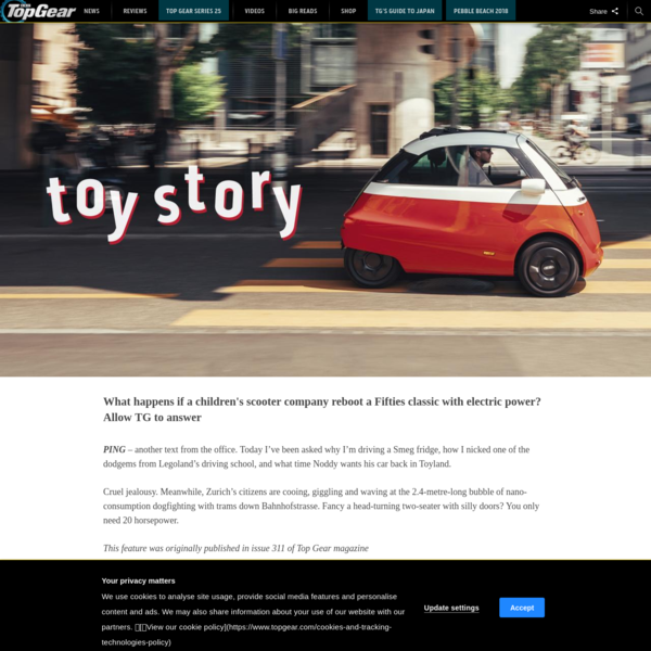 Toy story: driving the adorable Microlino EV