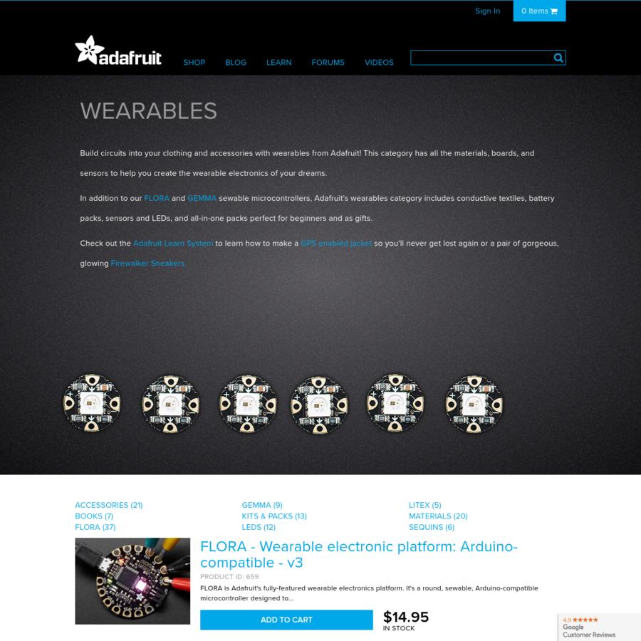 Are.na / Wearables : Adafruit Industries, Unique & fun DIY ...