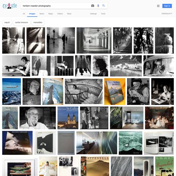 herbert maeder photography - Google Search