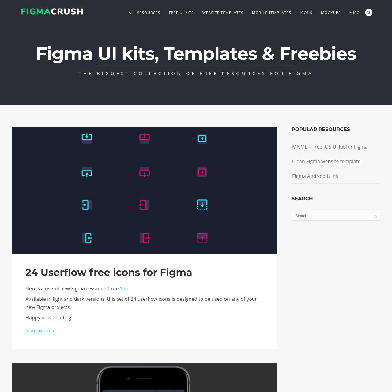 Are na / Figma Templates, UI kits and Freebies - Free Figma resources