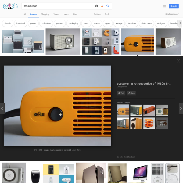 braun design - Google Search