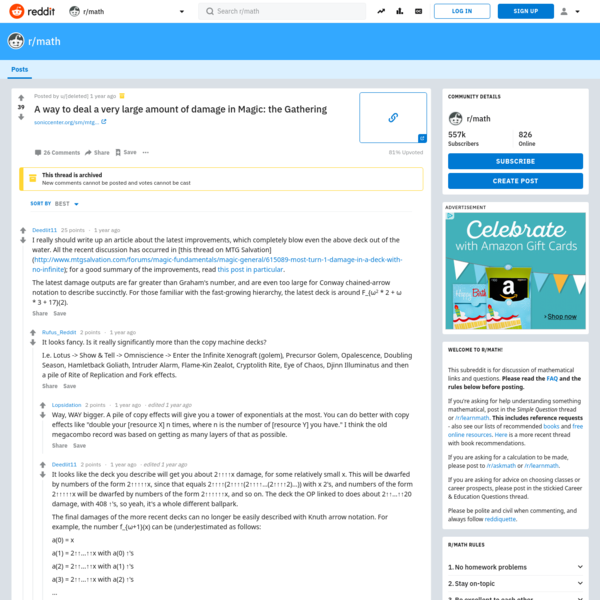 37 votes and 26 comments so far on Reddit