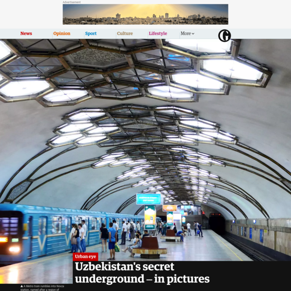 Uzbekistan's secret underground - in pictures
