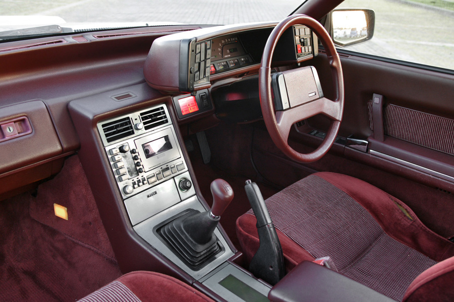 Mazda Cosmo two-door coupe interior